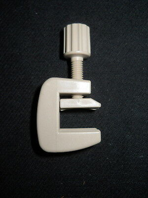"""Bel-Art Nylon Screw Compression Clamp for up to 1/4"""" Tubing, F18225-0000"""