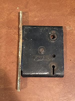 Antique Vintage Nashua Mortise Lock Door Hardware