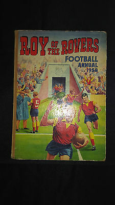 Roy of The Rovers Football Annual 1958 Vintage Hardback Book