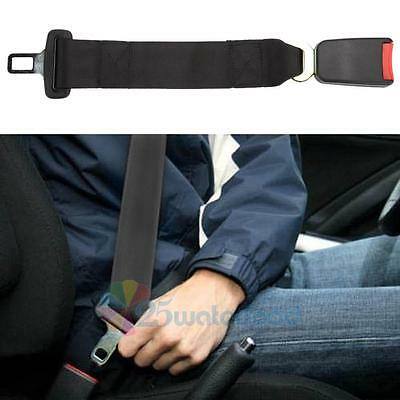 """14"""" Universal Car Seat Belt Extension Extender Strap Safety Buckle 7/8"""" Buckle"""