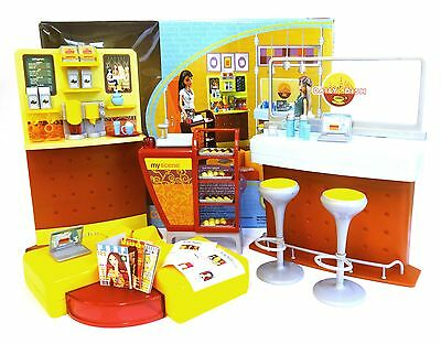 My Scene Barbie doll – Daily Dish Café playset – Great condition