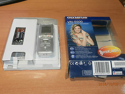 Olympus Vn 5500 Digital Voice Recorder Very Good Conditions