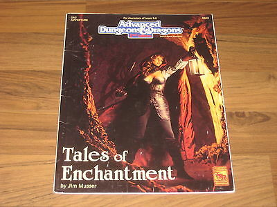 AD&D 2nd Edition GA3 Tales of Enchantment Adventure 1993 TSR 9428