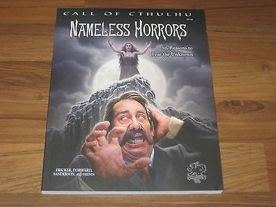 Call of Cthulhu Nameless Horrors Adventurers SC Chaosium Inc. New
