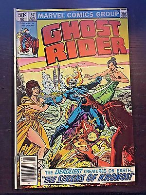 Ghost Rider (1973 1st Series) #52 8.5 VF+ Very Fine+ Marvel Comics Newsstand