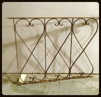 Antique Iron Fence section, from Italy