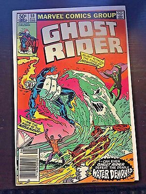Ghost Rider (1973 1st Series) #59 8.5 VF+ Very Fine+ Marvel Comics Newsstand
