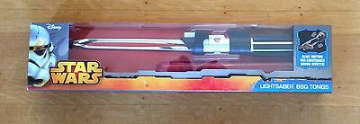 Official Disney Star Wars DARTH VADER Lightsaber BBQ TONGS with Sound Effect NEW