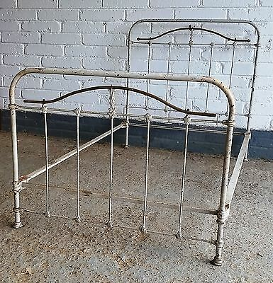 Vintage French metal bed
