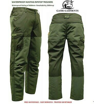 Game Excel Ripstop Waterproof Hunters Trousers. Hunting / Shooting / Fishing