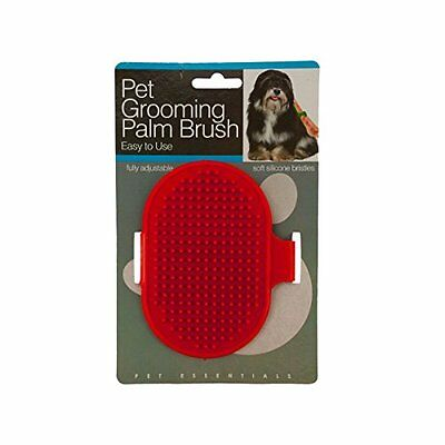 Adjustable Pet Grooming Palm Brush - Two Colors!