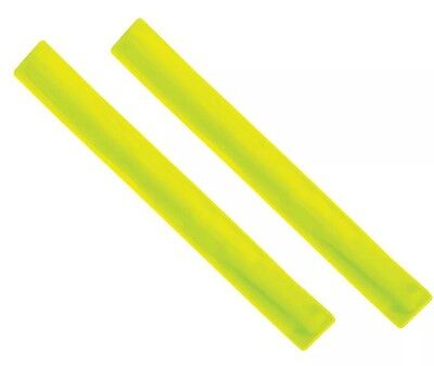 Large High Visibility Reflective Snap Band Cycling Walking Saftey Arm Leg Strap