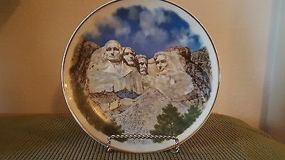 Mount Rushmore Presidents Head Plate