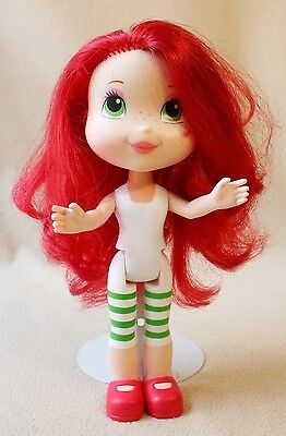 """Hasbro 2008 Strawberry Shortcake Doll 11"""" T, Sweet Surprise Scented Hair"""