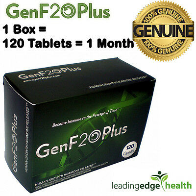 120 X GenF20 Plus Tablets - Improve Your Virility & Energy ☆ 100% Genuine ☆