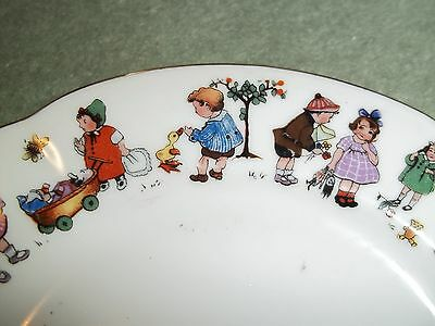 Childs Porcelain Vintage Teaset 1928   Comes In Original Box And Straw Packing