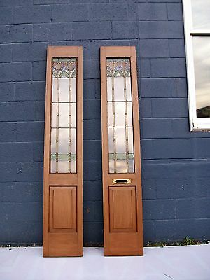 antique leaded glass windows doors-selling out make offer