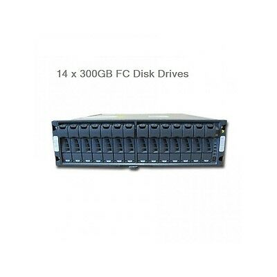NetApp DS14 MK4 With 14 x 300Gb 15k Drives 4.2TB