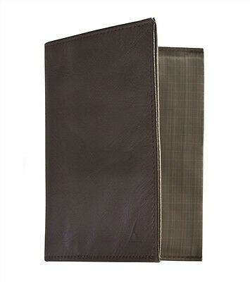 Allett Slim Wallet Nylon Brown