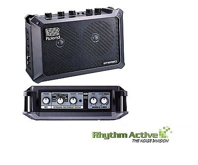 Roland Mobile Cube Guitar Keyboard Instrument/microphone Stereo Amplifier/micro