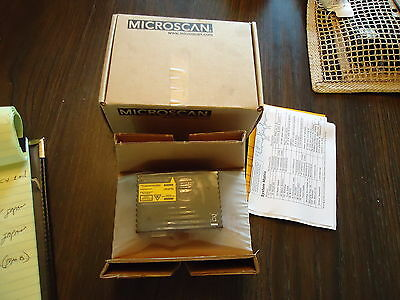 New Microscan Medium Density Scanner Single Line Ms-820, 059331, Fis-0820-0009