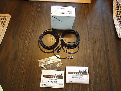 New Sunx Ex-13Ead & Ex13P Photoelectric,  Made In Japan