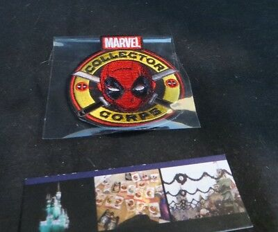 Marvel Collectors Corps exclusive Deadpool Box Deadpool patch only