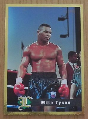 MIKE TYSON 1995 LEGENDS Gold Card Auction _ MAIL WORLDWIDE