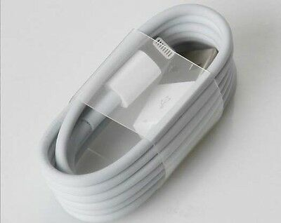 100 X Uk Wholesale Apple Iphone Charging Data Cables Compatible For Iphone 5-7