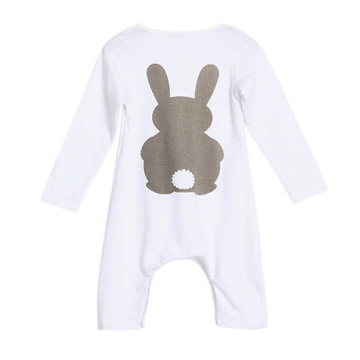 Newborn Infant Baby Jumpsuit Bodysuit Romper Toddler Girl Boy Clothes Outfit
