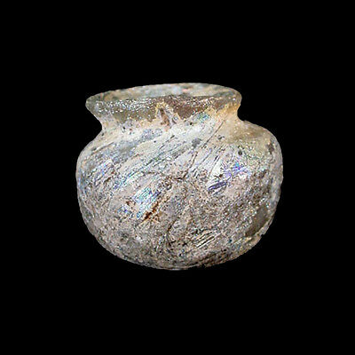 Islamic miniature glass vessel. x5597