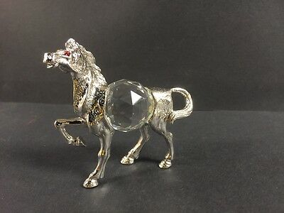 """Unique Asfour Crystal  """"Crystal Egyptian  Horse"""" Made In Egypt """" ASFOUR Crystal"""