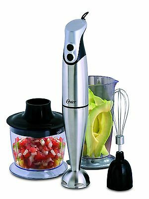 Oster Hand Blender with Accessories, Stainless Steel