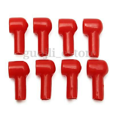 20Pc 15X12mm Red Soft Plastic Battery Terminal Boots Insulating Protector Covers