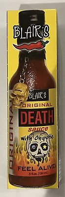 909926 150mL BOTTLE OF BLAIR'S ORIGINAL DEATH SAUCE WITH CHIPOTLE - FEEL ALIVE!