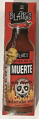 909927 150mL BOTTLE OF BLAIR'S MUERTE DEATH SAUCE WITH CHIPOTLE - FEEL ALIVE!
