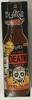 909929 150mL BOTTLE OF BLAIR'S AFTER DEATH SAUCE WITH LIQUID RAGE - FEEL ALIVE!