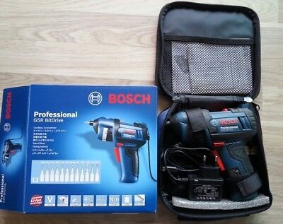 [Expedited shipping] BOSCH  GSR BitDrive Cordless Screwdriver 12 bit include