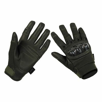 MFH Tactical Handschuhe Mission oliv