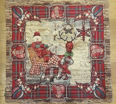 Cuscini, Runner, Natale, Emily Home, Gobelin Collection, Country Christmas