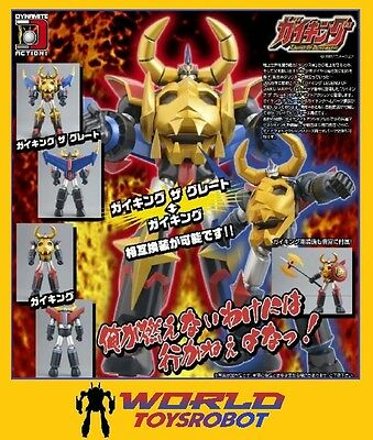 EVOLUTION TOY DYNAMITE ACTION No.15 GAIKING THE GREAT LEGEND OF DAIKU MARYU NEW!
