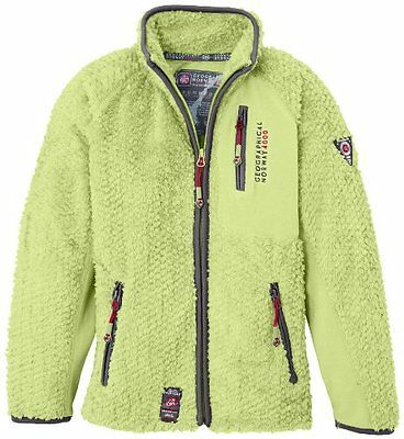 Verde (Vert (Anis)) (TG. 4 anni) Geographical Norway - Giacca, bambina, Verde (V