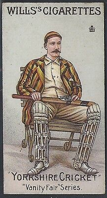 Wills-Vanity Fair (Unnumb)-#50- Cricket - Yorkshire - Lord Hawke