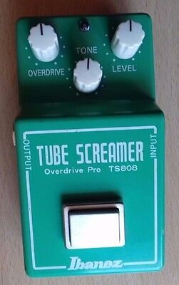 Ibanez Tube Screamer Overdrive Pro TS808 Guitar Effects Pedal