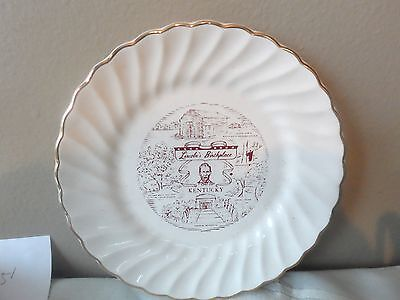 """Kentucky Lincoln's Birthplace 6"""" Collector Plate"""