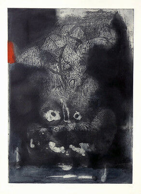 ANTONI CLAVE Guerrero Etching signed & numbered in pencil | Spanish abstract art