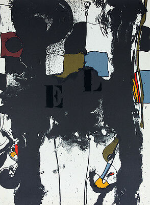 JOSEP GUINOVART El meu carrer #1 Lithograph signed & numbered | Abstract art