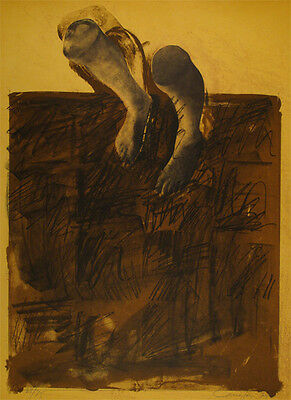 RAFAEL CANOGAR Lithograph signed & numbered | Spanish contemporary art ed. 75