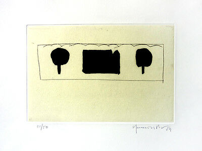 JOAN HERNANDEZ PIJUAN - Etching on paper hand signed & numbered in pencil