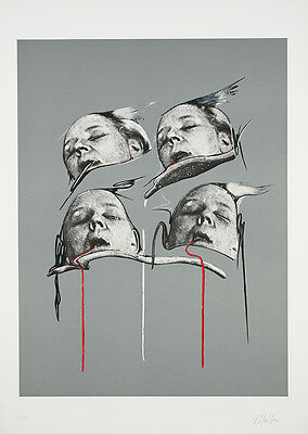 DARIO VILLALBA - Lithograph hand signed & numbered | Spanish contemporary art